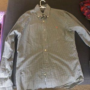 Ralph lauren checks shirt small slimfit